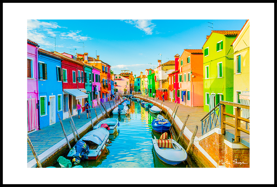 From Burano Bridge