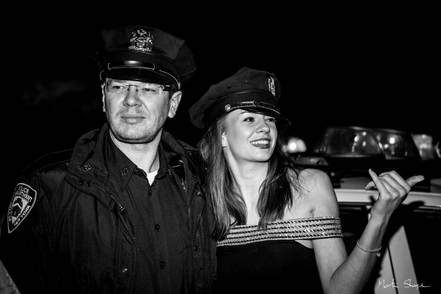 Cop and Young Lady